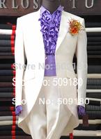 High quality wool black party customized tuxedo male suits 5 pieces(Coat+Pants+Vest+tie+Shirt) TZ030 2014