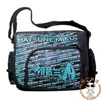 2014 NEW! Japan anime VOCALOID MIKU wholesale school bag Messenger Bag canvas bag