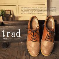 New 2014 Hot-selling laser carved vintage women's shoes single shoes preppy style color block color block decoration