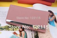 2014 new fashion women's PU Leather long design  Cute bow wallets/Purse/clutches/handbag Free Shipping NQB52