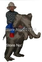 Adult Halloween animal themed costume elephant costume party clothing free size