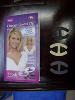 Cleavage control clip bra buckle bra buckle breast enlargement buckle