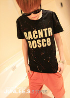 2014 summer t-shirt male short-sleeve o-neck short-sleeve men's clothing t-shirt basic t-shirt