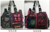 2014 Free Shipping! High Quality Embroidered Desigual Bags Retro Vintage Bag Women Messenger Bag