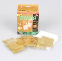 Detoxifies kinoki detox foot patch detox foot care foot patch gold foil powder bag 10 box
