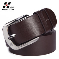 Cinto Masculino free Shipping! Belts for Men Genuine Leather Strap Casual Cowhide Belt Pin Buckle Brand 2 Colors Black/brown