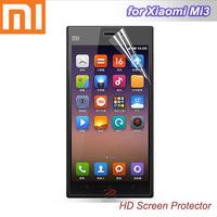 100pcs/lot high definition screen protectors for xiaomi Mi3, film, screen guard, phone accessories