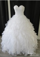 2013 Newest arrival Glamorous Lace Long sleeves A-line bride dresses wedding dress wedding gown