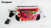 2014 New Fashion High Quality Desigual Bag Vintage Women Messenger Bags Desigual Canvas Bag