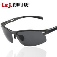 Male male polarized sunglasses polarized aluminum magnesium sunglasses sun glasses driving mirror