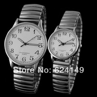 20PS Wholeale6Color New 2014 Watch Women Dress Watches Men Luxury Brand Eyki Clock Men full Steel Watch Quartz Wach Couple Watch