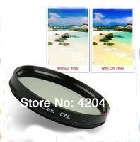 40.5mm Circular Polarizing Polarizer Filter CPL For Sony NEX 5T 5R 3N Nikon J1 J2 J3 Samsung NX2000 NX1100 NX1000 NX100 20-50mm