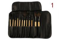 Free shipping !! 12pcs Brand Logo Professional Soft Hair make up tools kit Cosmetic Beauty Makeup Brushes Sets