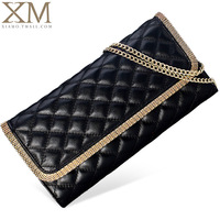 2014 women's genuine leather clutch day clutch women's cowhide handbag big clutch small shoulder bag x6