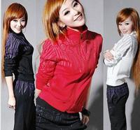 2014Pure cotton  Sweatshirt Women Sport Suit Women Brand Active Hoodies Clothing Coat+Pants 2 pcs Set Lady Casual Sports Wear