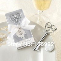 Key to my heart Victorian bottle opener 100PCS/LOT wedding party favor gift for men Free shipping