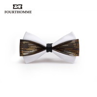 Men's tie/cravat High quality luxury fourthomme fashion royal wedding male the bridegroom bow tie  free shipping