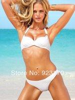 Free Shipping fashion Dropshipping push up bathing suit tops new style Solid bikini bathing suits fashion sexy swimwears Y040