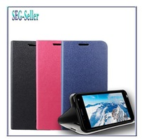 Hight quality 1 PCS/LOT, Flip cover PU Leather  Case For Alcatel One Touch Idol Mini, 6012X, 6012A, 6012W,TCL S530T Cover cases