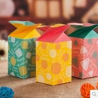 Free shipping! 2014 Newest Korean Creative Cute Fashion Candy Box Baby Shower Box Gift Box  Wedding Paper Box 150pcs/lot