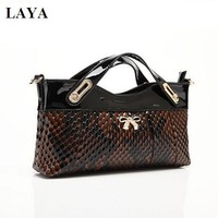 new 2014 ms LAYA brand handbags, leather messenger bag, fashion wallet, hand bag, high-grade evening bag, 3 color optional