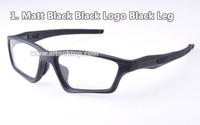 Free shipping Matte black eyewear crosslink sweep sport eyeglasses frames 8colors for myopia optical glasses Men anteojos gafas
