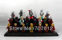 2014 Crazy Party Cute Mini Iron Man Action Figure 20PCS/Set  PVC Building Blocks Best Gift  Free Shipping