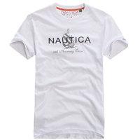 Male short-sleeve T-shirt men's  US NAUTIC clothing casual t-shirt o-neck 100% cotton short-sleeve t-shirts
