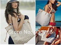 big discount  women's neverfull handbag louis plaid shoulder bags free shipping New Arrive  N51105 tote bag salable