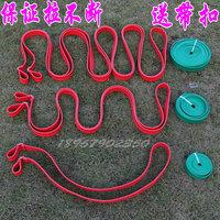 Belt tension elastic belt tension thickening rubber belt strap buckle