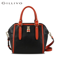 Gillivo 2013 first layer of cowhide women's 6134a21201m21 one shoulder handbag