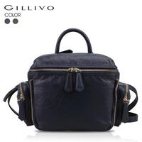 Gillivo women's shoulder bag first layer of cowhide handbag