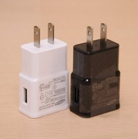 Hot sale 2A US Travel Wall Charger For Samsung Galaxy S3 S4 i9300 i9500 Note 2 3 N7100 N9000 with LOGO Free DHL
