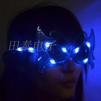 Led glasses butterfly led glasses flashing glasses masquerade masks