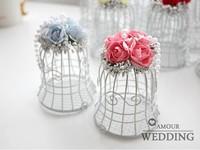 European white cage and joyful wedding bells and joyful box, wrought iron candy tin box free ems