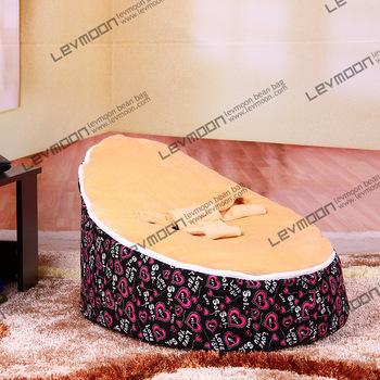 FREE SHIPPING baby seat with 2pcs lemon up cover baby bean bag baby beanbags chair bean bag seat bean bag furniture(China (Mainland))