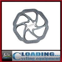 "2 pcs HS1 Bicycle brake disc Brake block/Lining Rotors MTB bike brake pad 160mm 6"" With 6 Bolts BB5/BB7 System Disc"