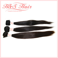 Peruvian virgin hair Extension Straight human hair Best quality 3pcs/lot 100% Peru Human Hair mixed lot no tangle Free Fast  DHL