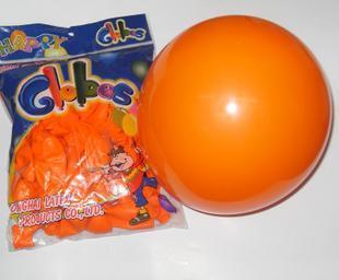 Free shipping Thickening balloon wedding balloon arch balloon orange balloon 100 15(China (Mainland))