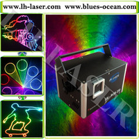 2W RGB full color Animation laser light analog modulation,anolog laser light,hot RGB laser