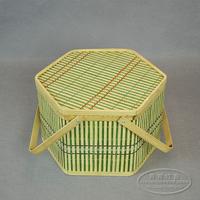 Bamboo basket gift packing basket fruit quality packaging bamboo