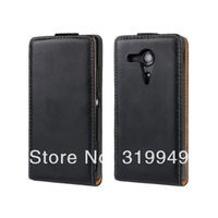 High Quality  Flip Leather Case Cover For Sony Xperia SP M35H M35c C5303 Free Shipping UPS DHL HKPAM CPAM