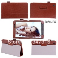 T320 Cover Case - Smart leather Cover stand Case for SAMSUNG Galaxy Tab Pro 8.4 inch tablet T320 Wholesale 100pcs/lot