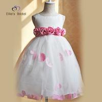 Princess dress child dress birthday wedding formal dress flower girl skirt short design