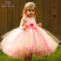 Luxury princess flower girl dress skirt wedding banquet dress formal dress advanced