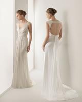 Summer new arrival 2014 deep V-neck racerback fashion slim waist bride evening dress mf011