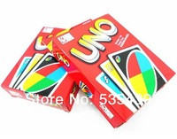 2014 NEW HOT 1 DECKS/LOT UNO Card Game Playing Card Family Fun Updated Version