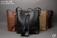 Free shipping designer python embossing bag with lock handbag women fashion purse tote SF1901 Brown black burgandy beige