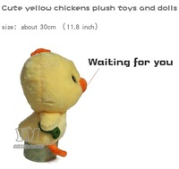 size 30cm cute yellow chicks adorable baby chickens plush toys and dolls