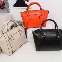 free shipping 2014 New Fashion women handbag brief crocodile pattern shoulder bags women messenger bags women leather handbags